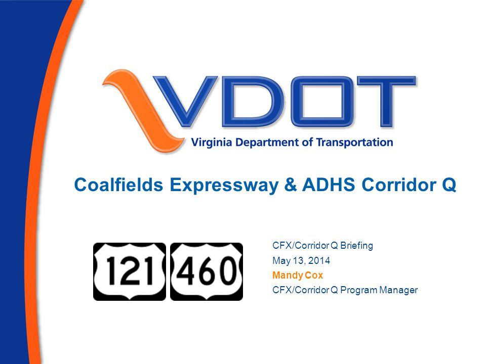 Coalfields Expressway & ADHS Corridor Q