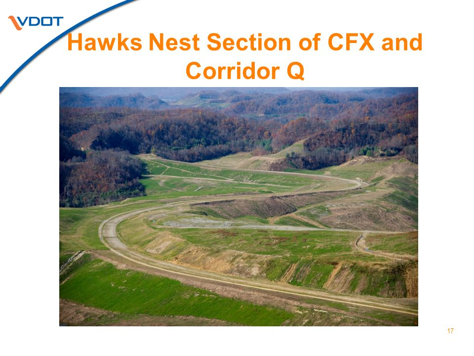 Hawks Nest Section of CFX and Corridor Q