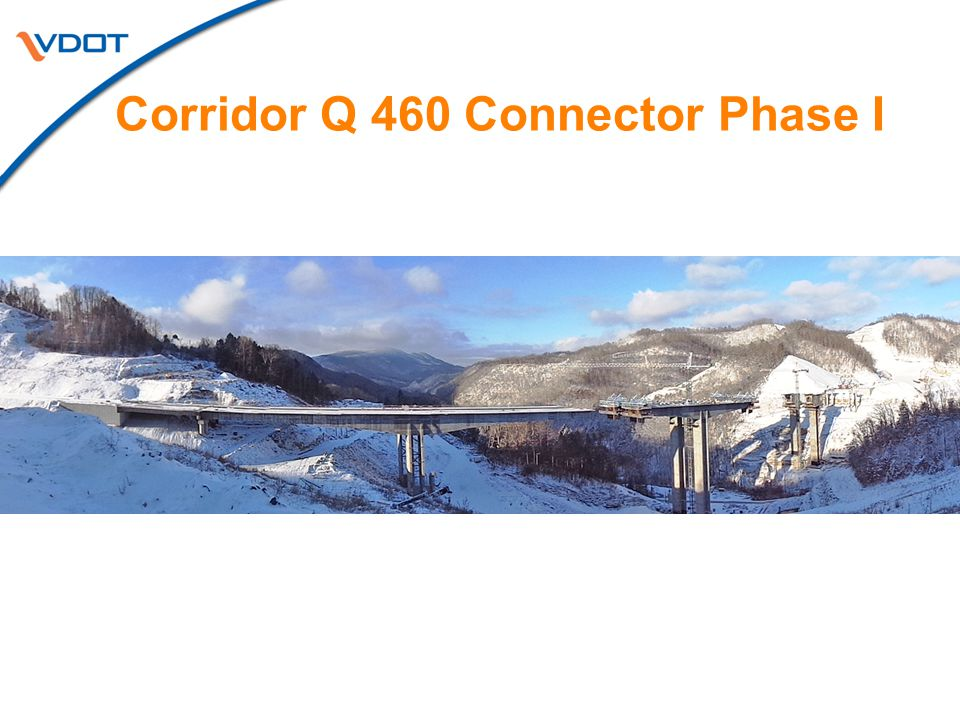 Corridor Q 460 Connector Phase I