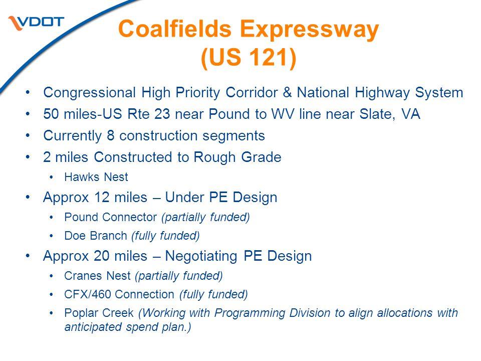 Coalfields Expressway (US 121)