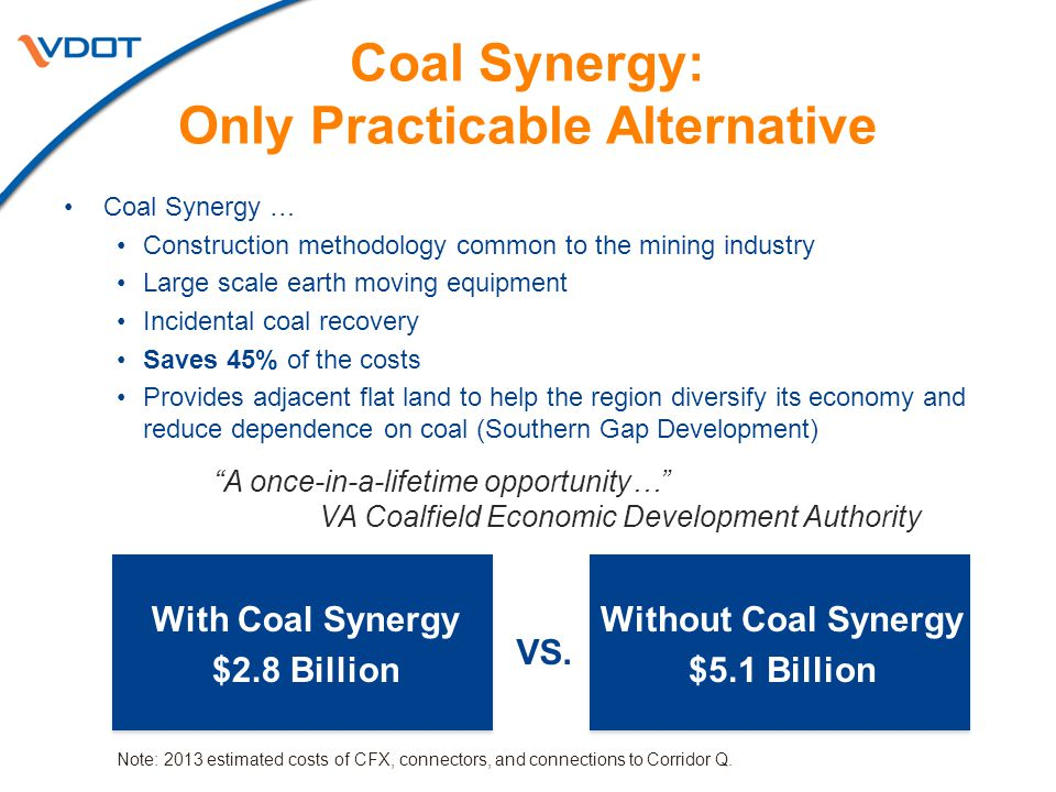 Coal Synergy: Only Practicable Alternative