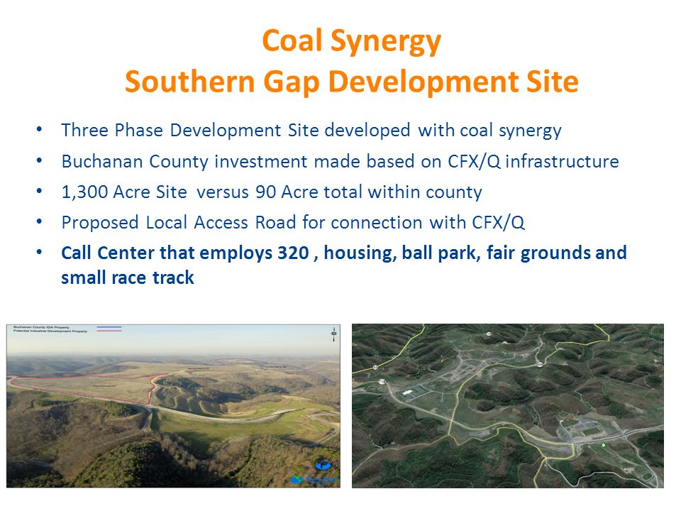 Coal Synergy Southern Gap Development Site
