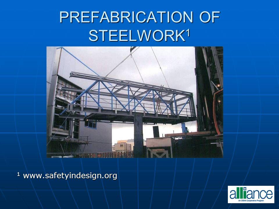 PREFABRICATION OF STEELWORK1