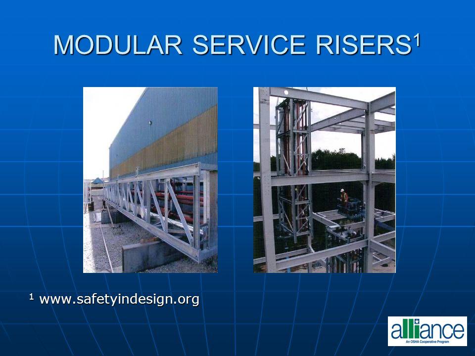 MODULAR SERVICE RISERS1