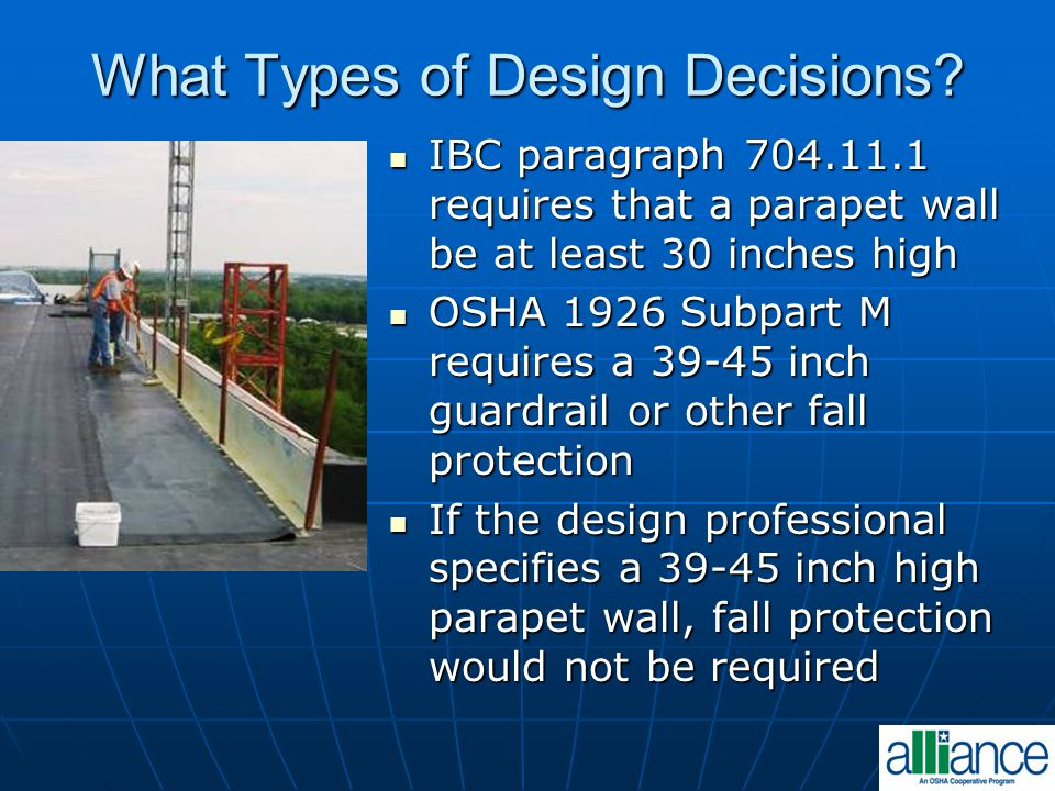 What Types of Design Decisions
