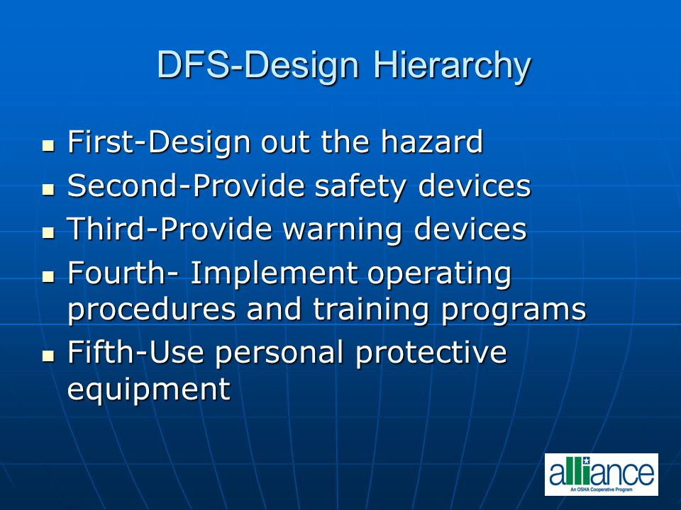 DFS-Design Hierarchy First-Design out the hazard