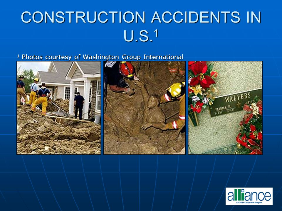 CONSTRUCTION ACCIDENTS IN U.S.1