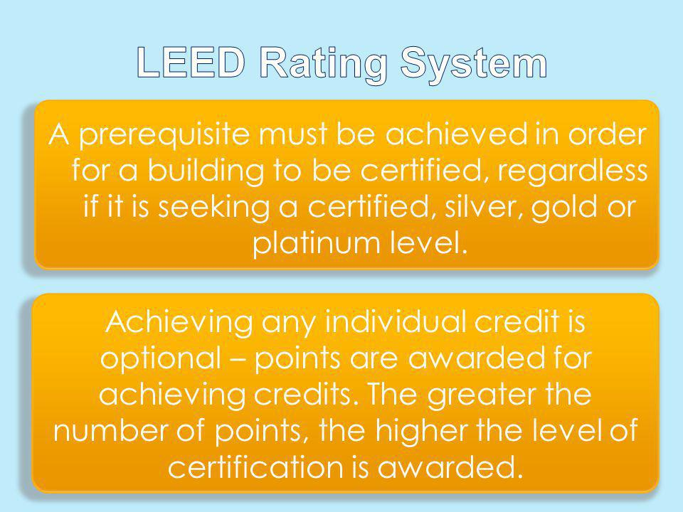 LEED Rating System