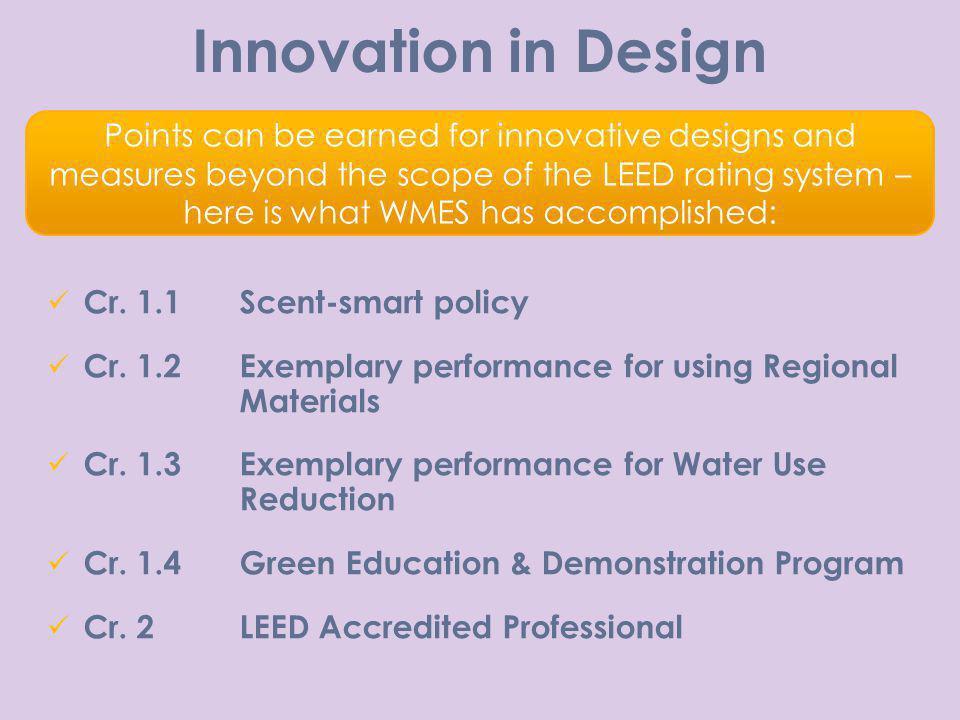 Innovation in Design