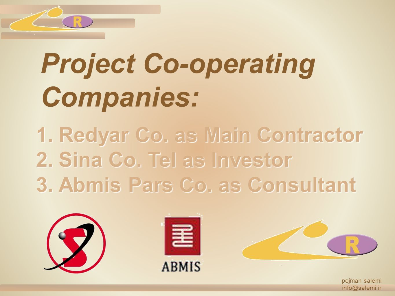 Project Co-operating Companies: