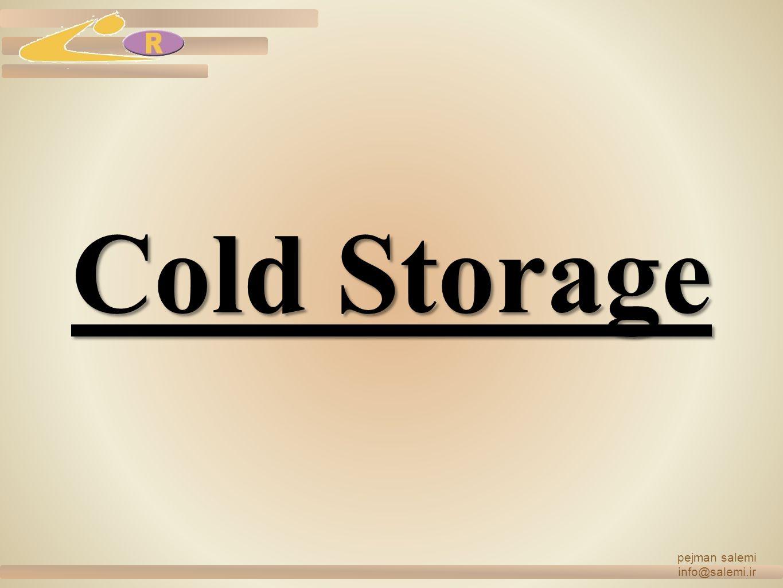 pejman salemi info@salemi.ir Cold Storage