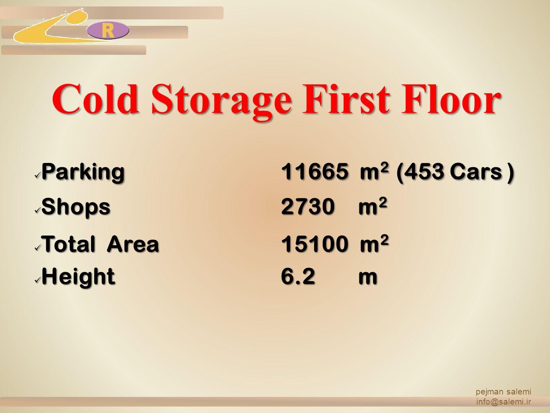 Cold Storage First Floor