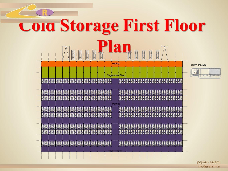 Cold Storage First Floor Plan