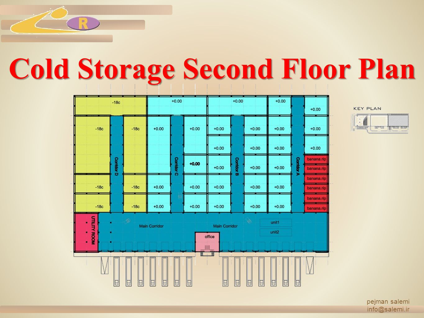 Cold Storage Second Floor Plan