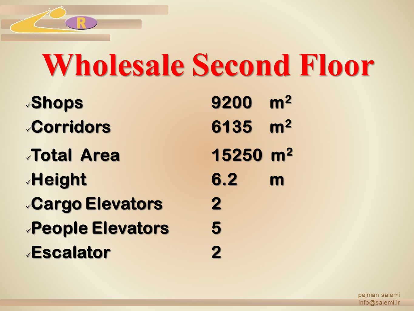 Wholesale Second Floor