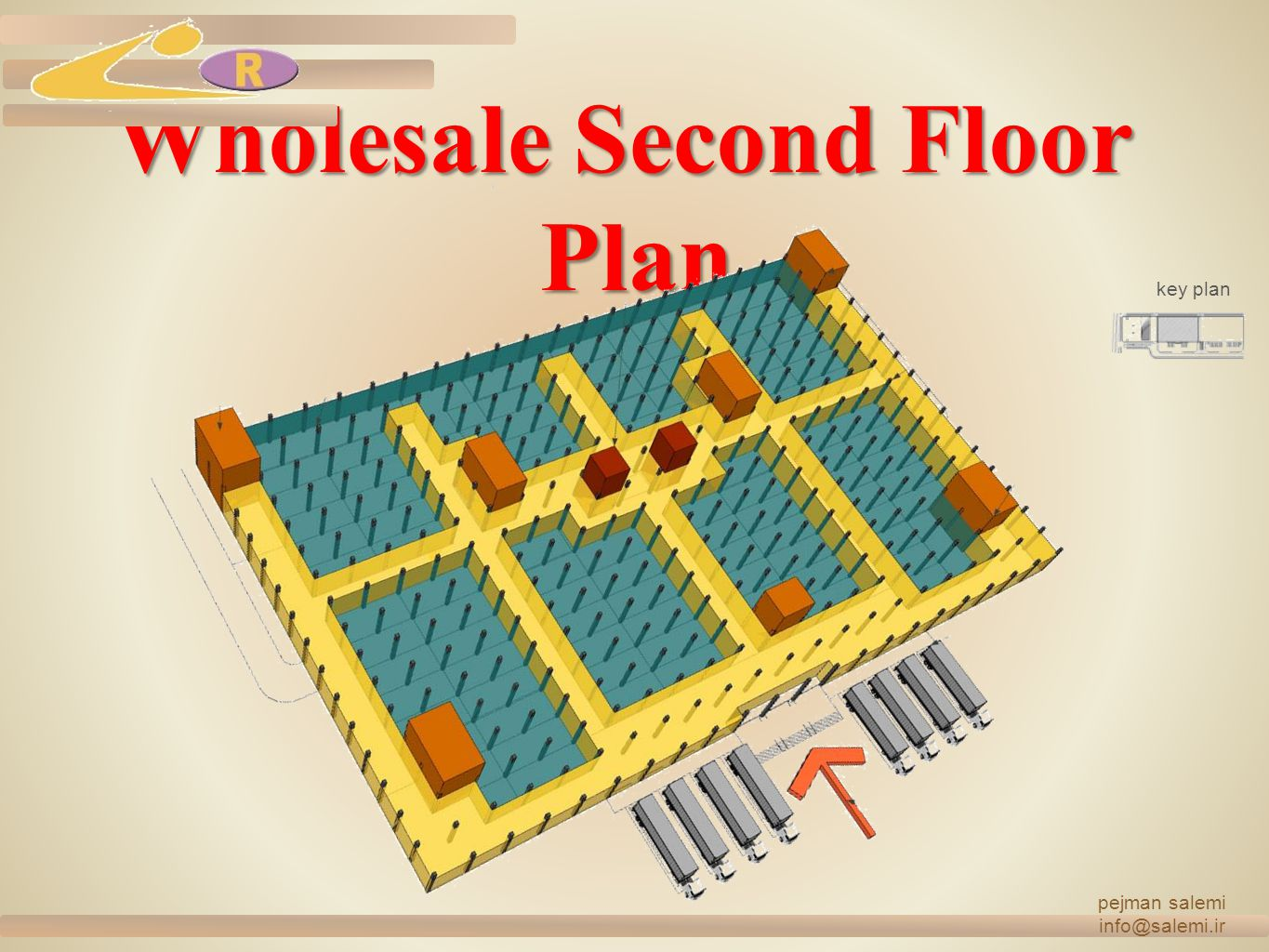Wholesale Second Floor Plan