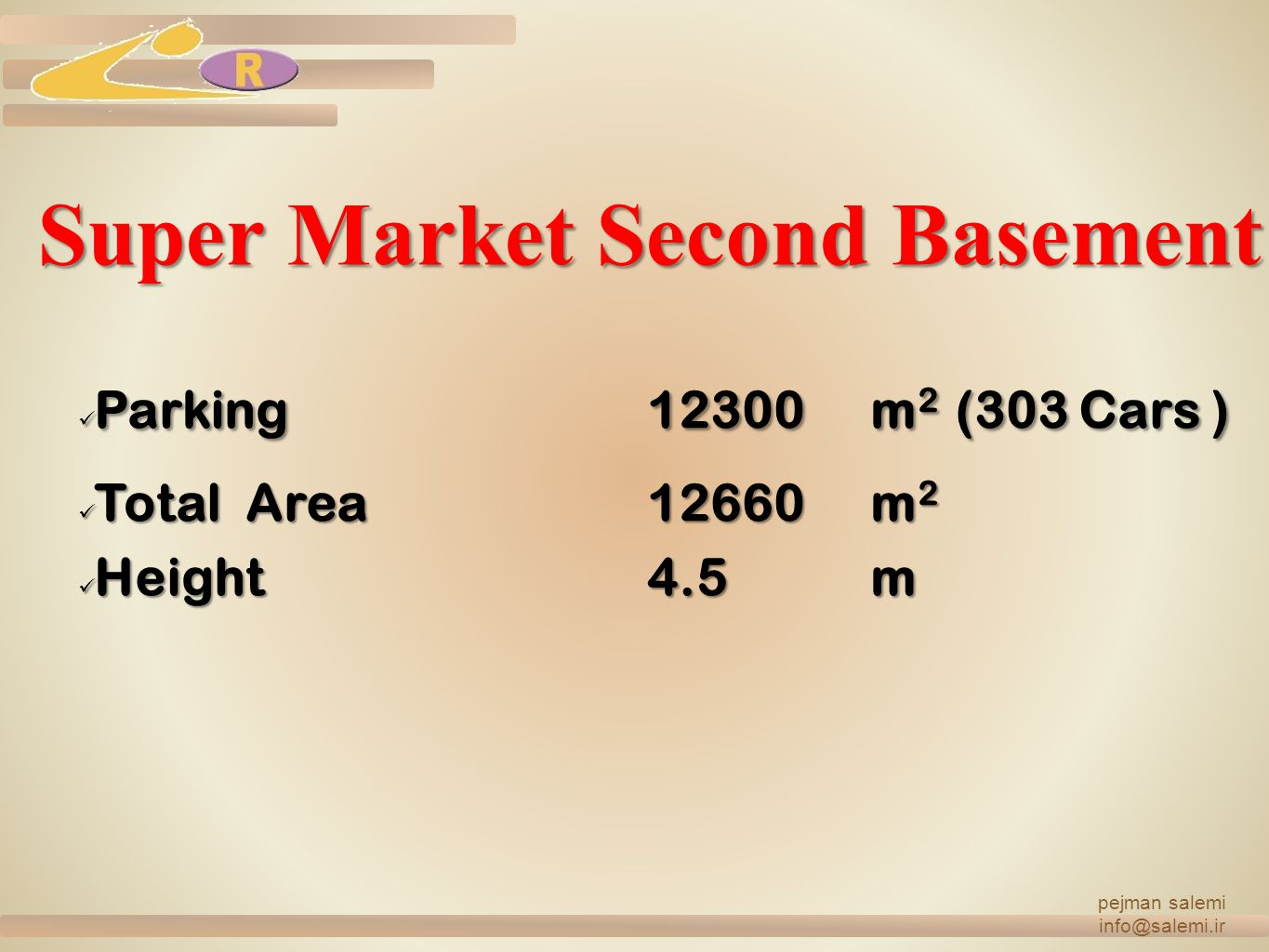 Super Market Second Basement