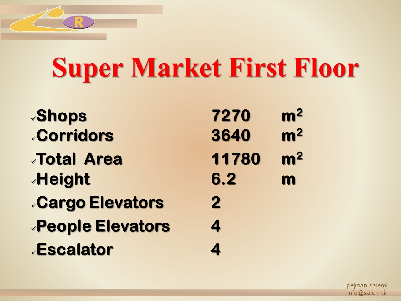 Super Market First Floor