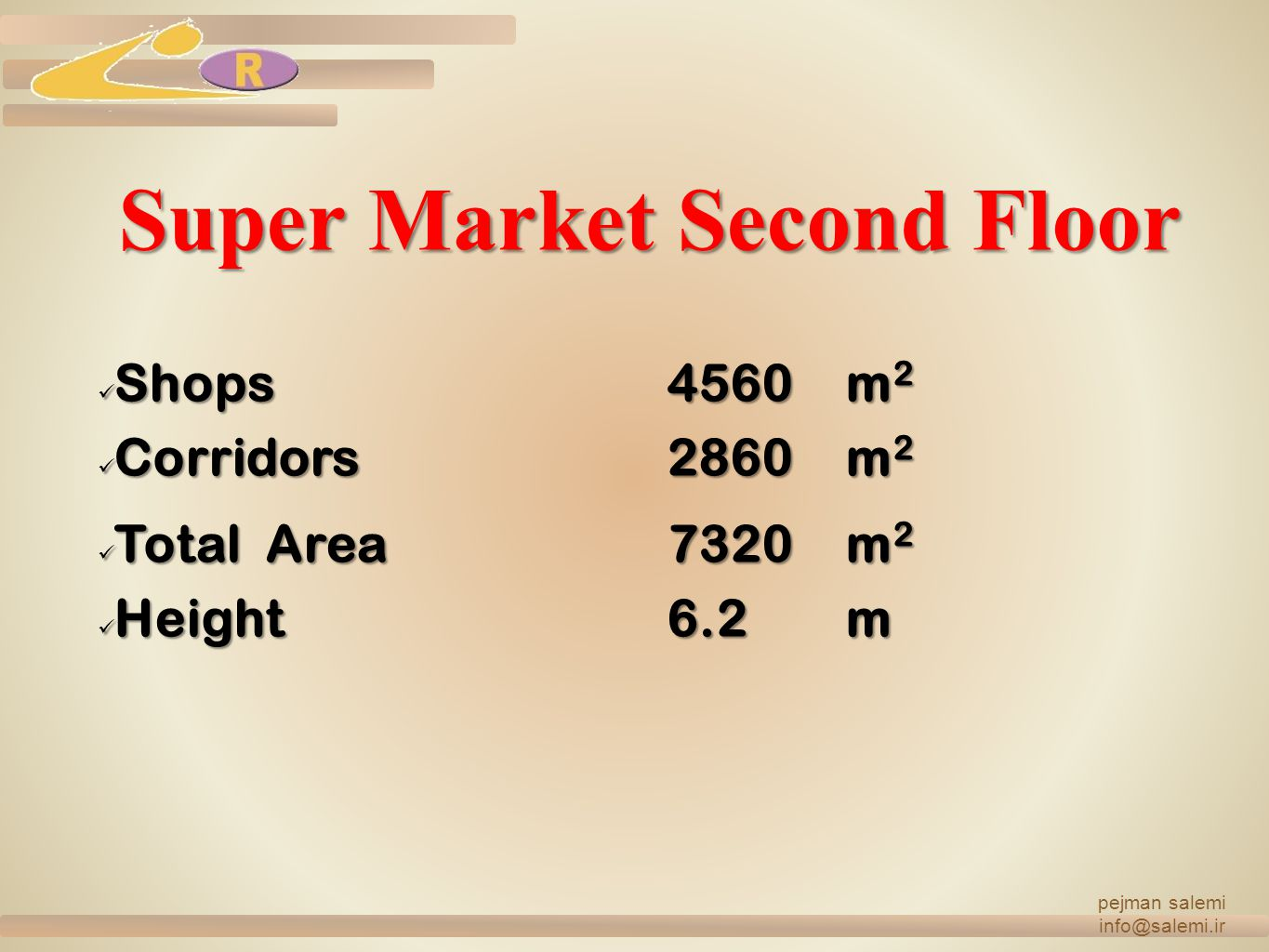 Super Market Second Floor