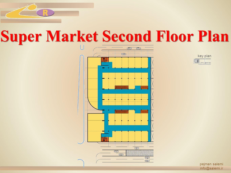 Super Market Second Floor Plan