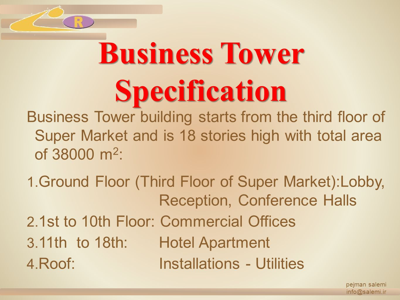 Business Tower Specification