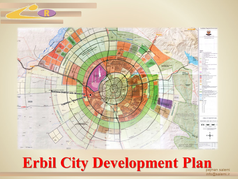 Erbil City Development Plan