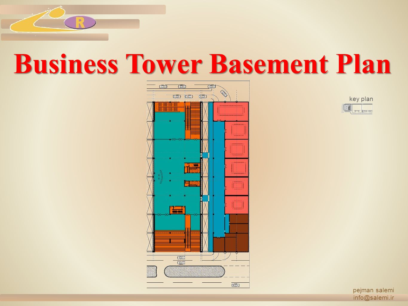 Business Tower Basement Plan