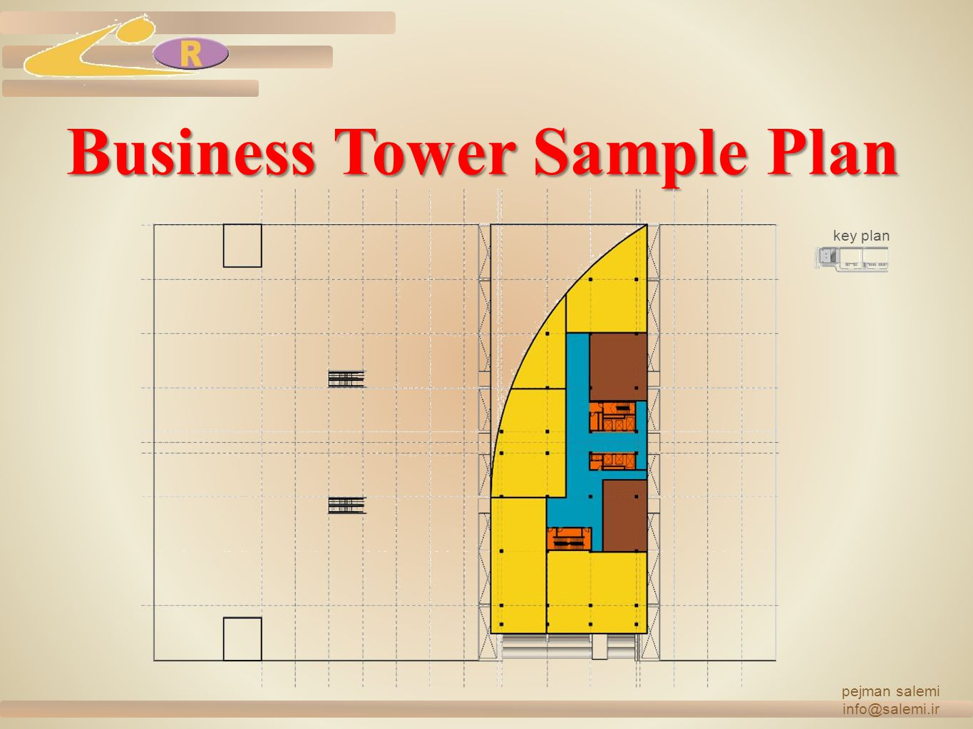 Business Tower Sample Plan