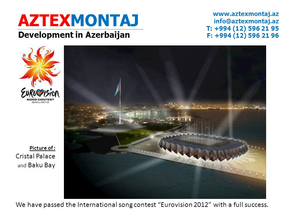 AZTEXMONTAJ Development in Azerbaijan
