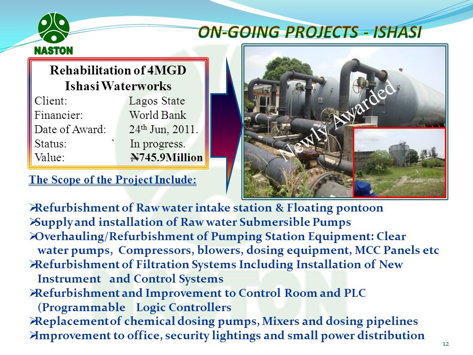 ON-GOING PROJECTS - ISHASI