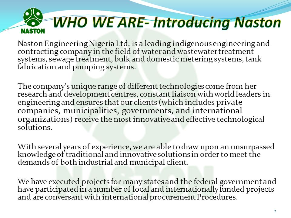 WHO WE ARE- Introducing Naston