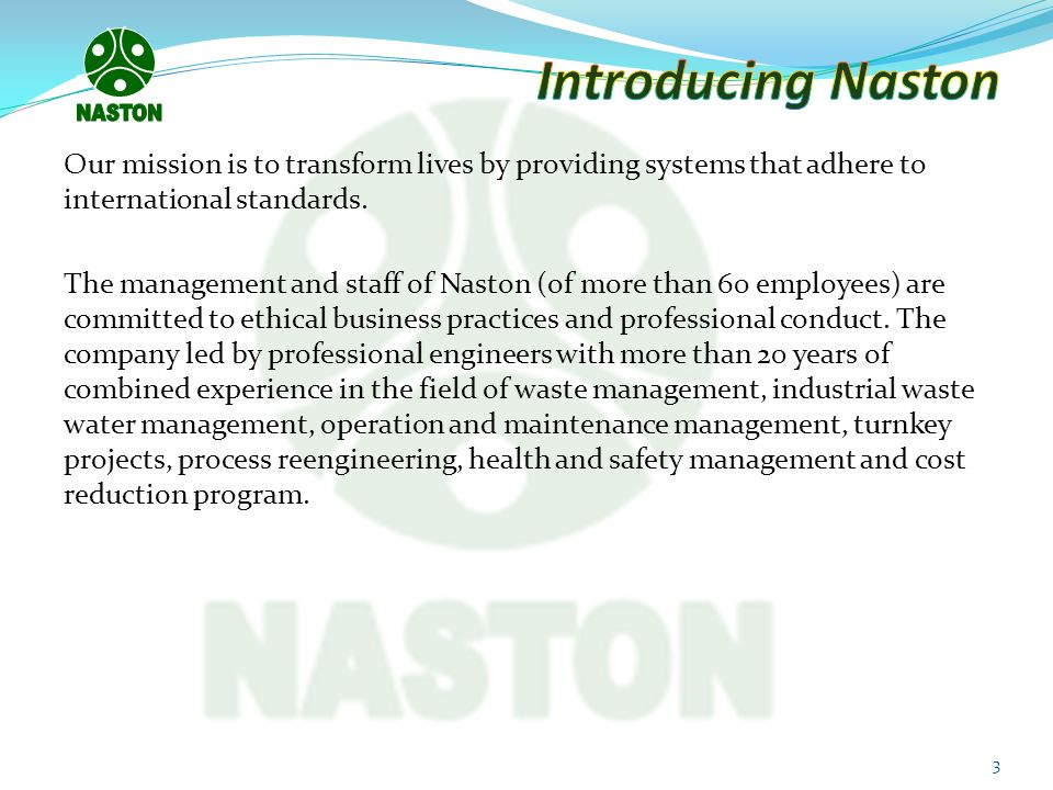 NASTON Introducing Naston.