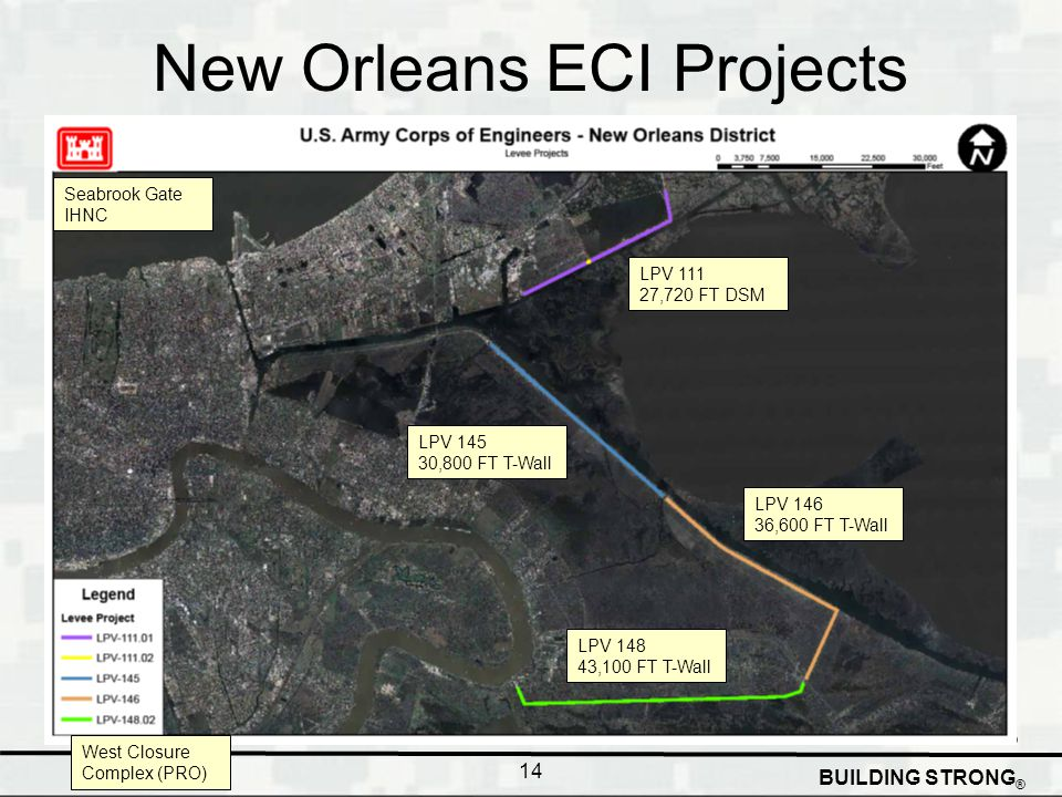 New Orleans ECI Projects