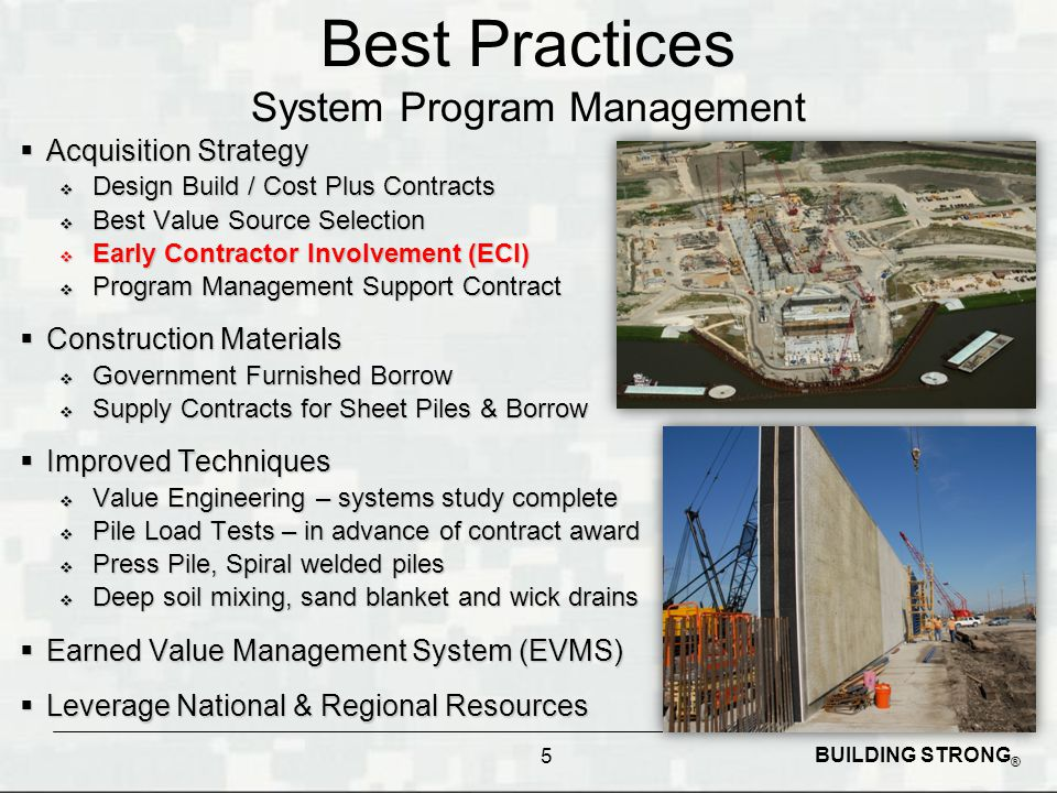 Early contractor involvement hpo s key to success ppt for Cost plus building contract