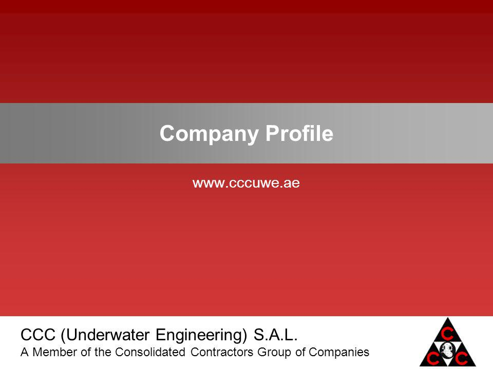Company Profile www.cccuwe.ae 1