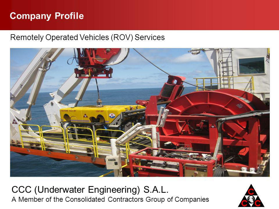 Company Profile Remotely Operated Vehicles (ROV) Services