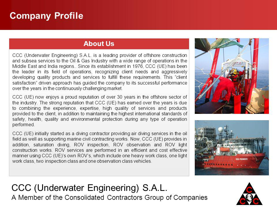 Company Profile About Us