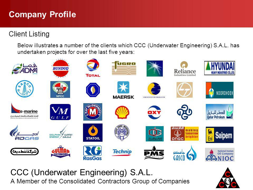 Company Profile Client Listing