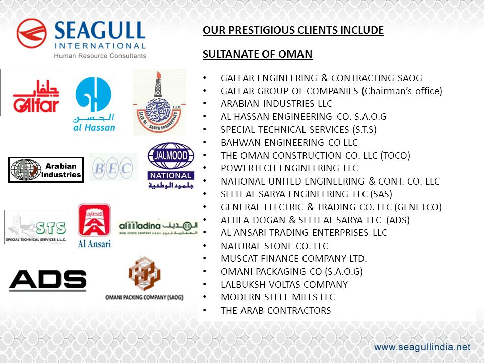 OUR PRESTIGIOUS CLIENTS INCLUDE
