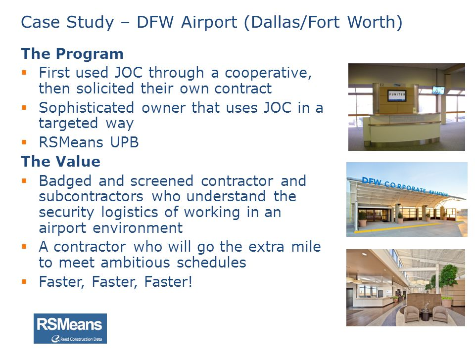 Case Study – DFW Airport (Dallas/Fort Worth)