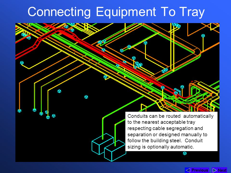 Connecting Equipment To Tray