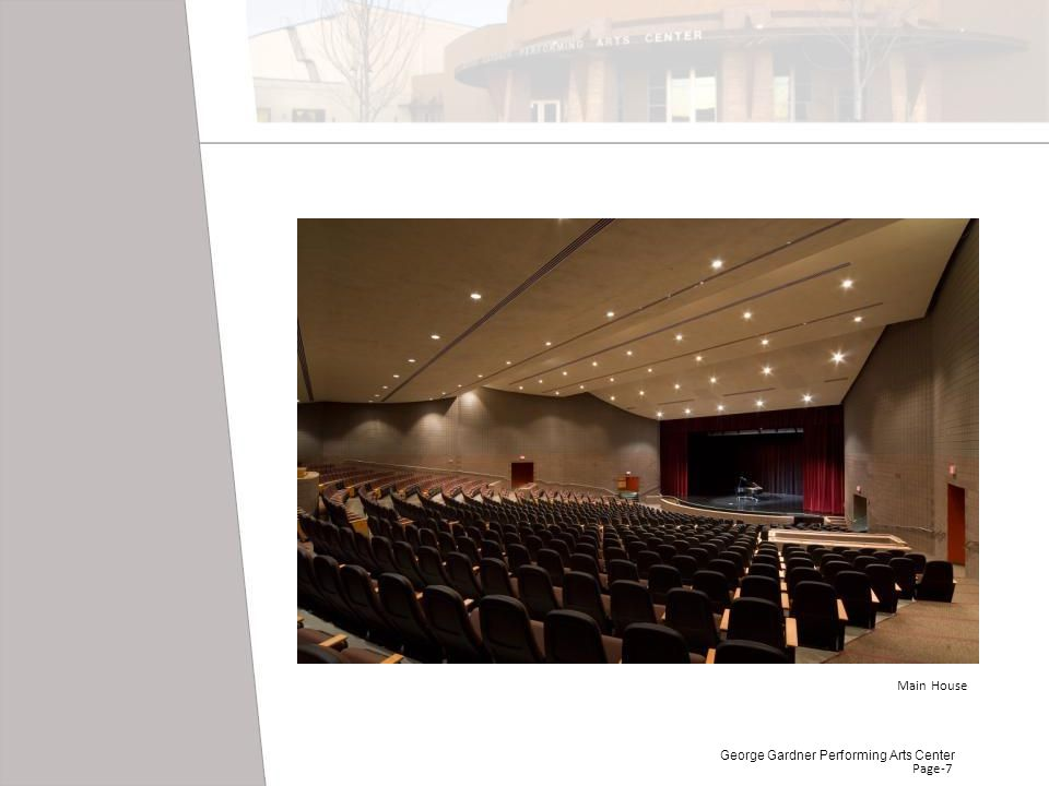 Main House George Gardner Performing Arts Center Page-7