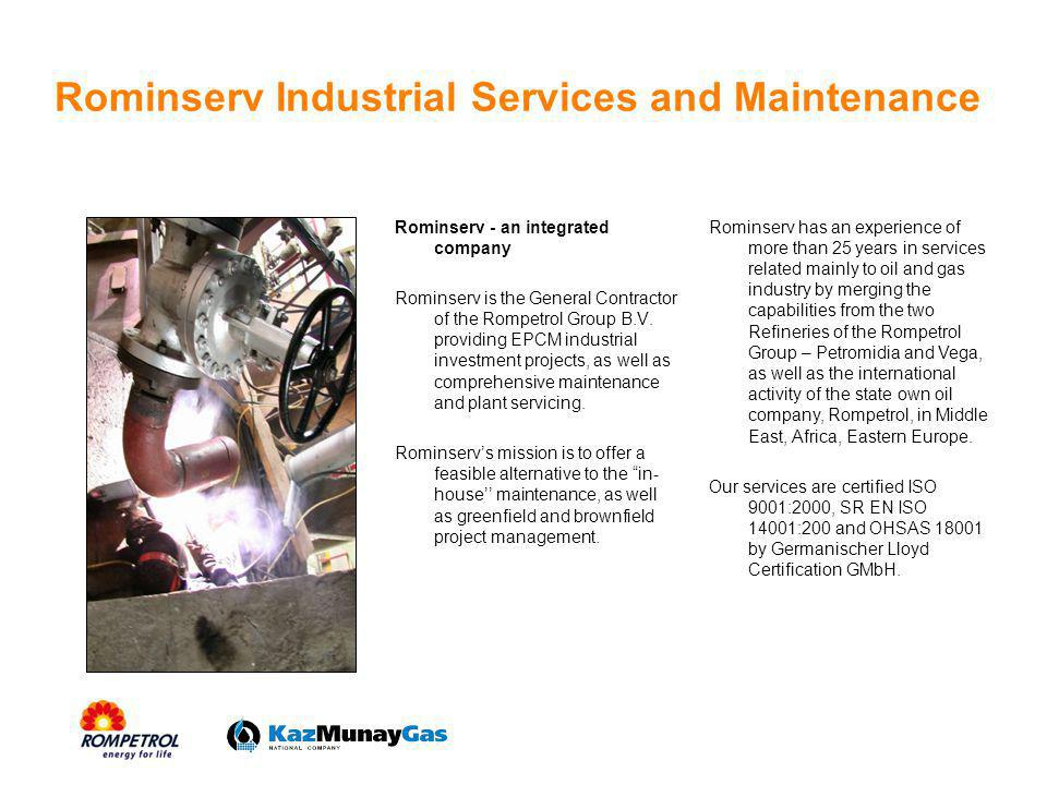 Rominserv Industrial Services and Maintenance
