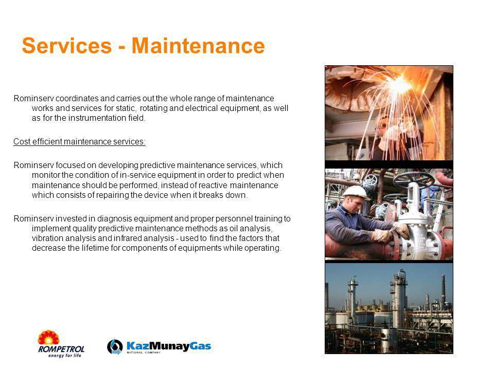 Services - Maintenance