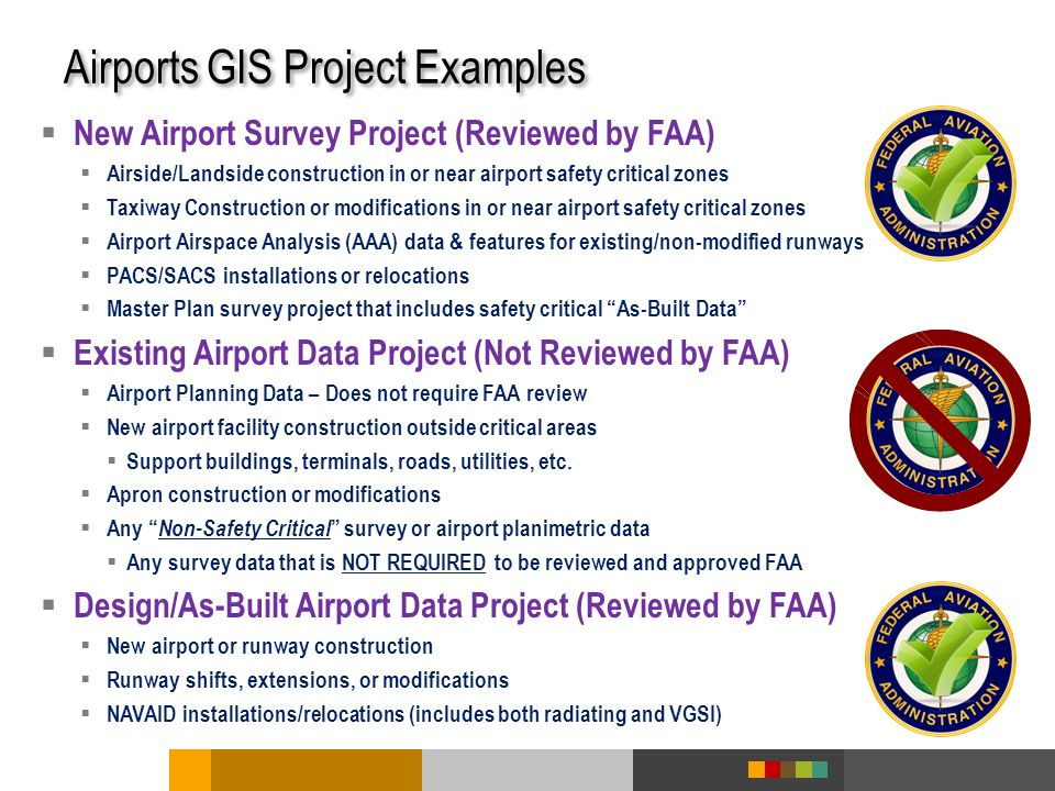 Airports GIS Project Examples