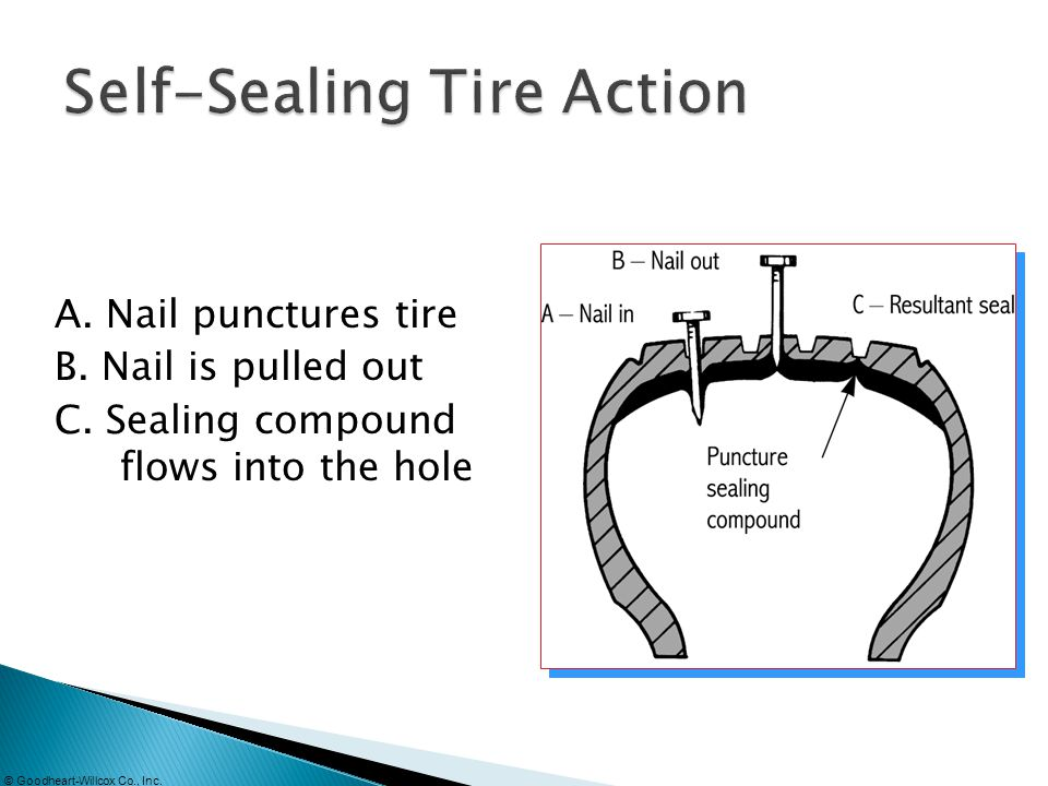 Self-Sealing Tire Action