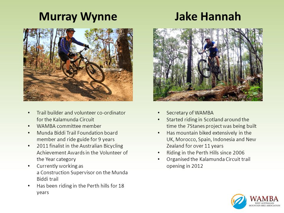 Murray Wynne Jake Hannah