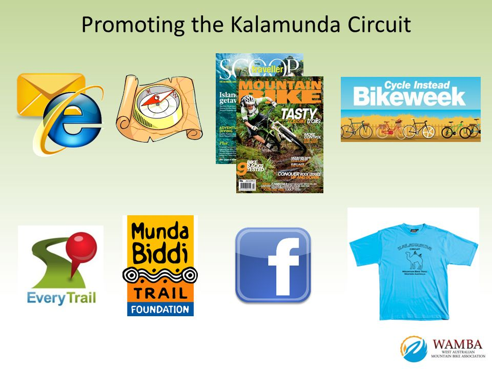 Promoting the Kalamunda Circuit