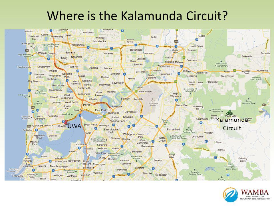 Where is the Kalamunda Circuit