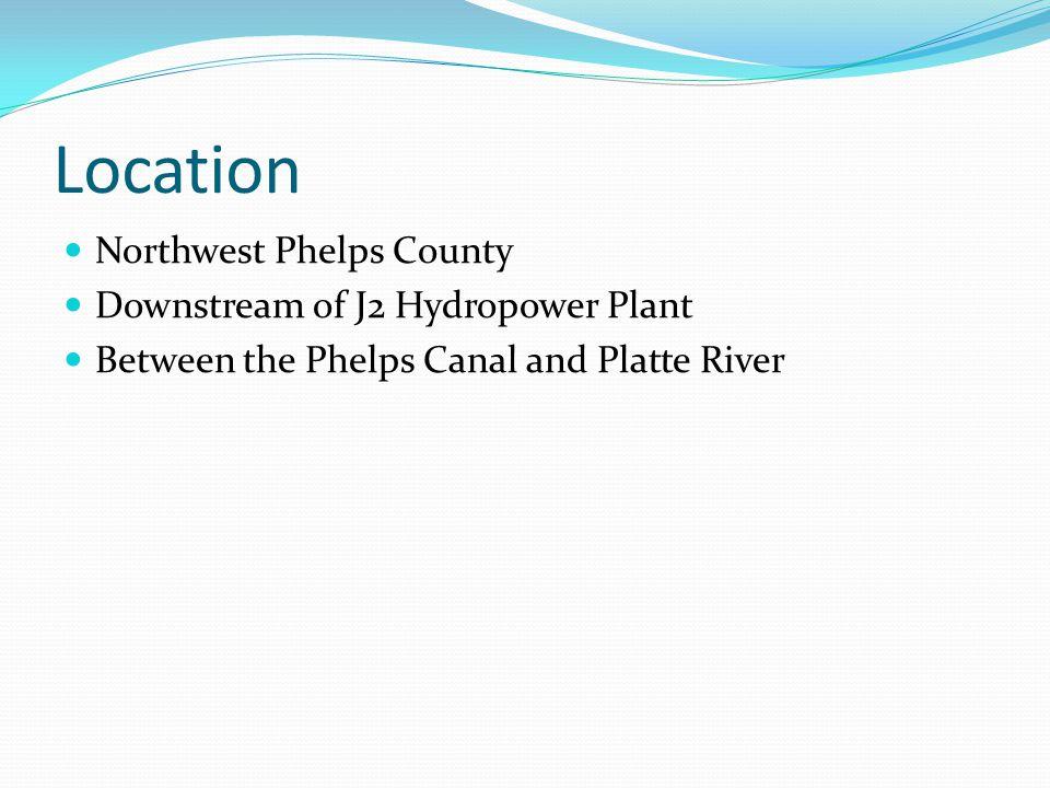 Location Northwest Phelps County Downstream of J2 Hydropower Plant